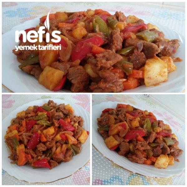 Sebzeli Tencere Kebabı