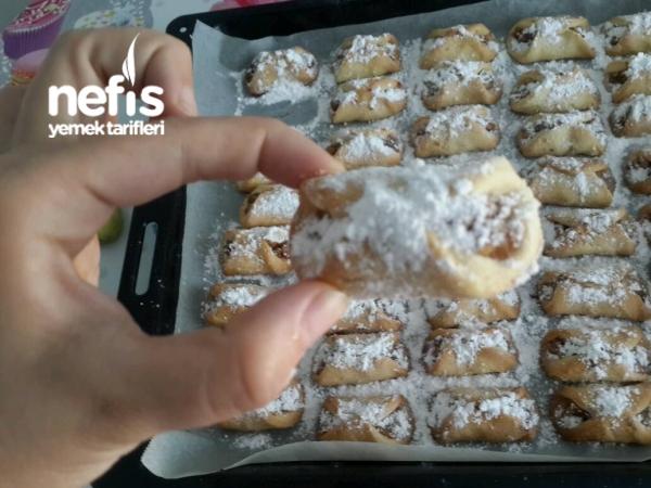 Yedikçe Yedirten Ağızda Dağılan Elmalı Kurabiyeler