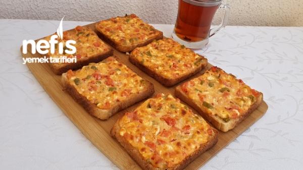 Kahvaltılık Peynirli Ekmekler