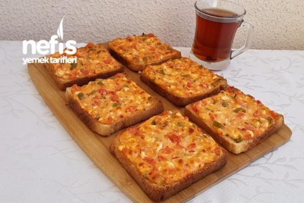 Kahvaltılık Peynirli Ekmekler Tarifi
