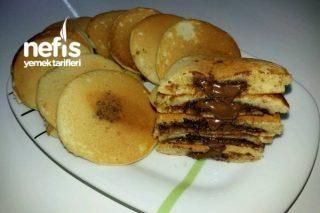 Çikolata Dolgulu Nefis Pancake Tarifi