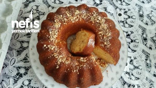 Portakal Kabuklu Fındıklı Yumuşacık Kek
