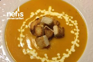 Nefis Kabak Çorbası – Kürbiscremesuppe