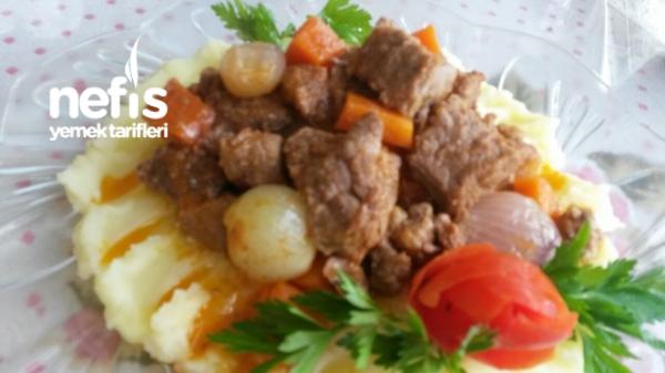 Patates Püreli Tas Kebabı