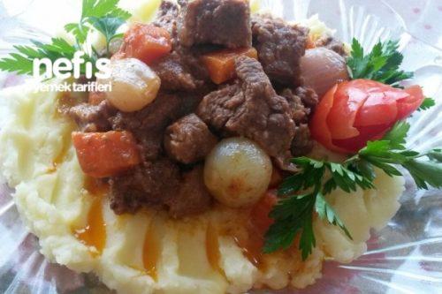 Patates Püreli Tas Kebabı Tarifi