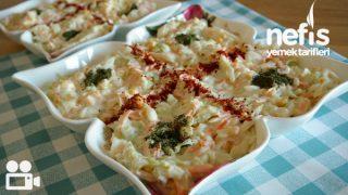 Lahana Salatası Tarifi Videosu