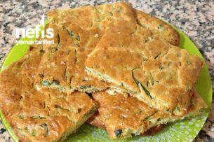 Ispanaklı Peynirli Tuzlu Kek Tarifi