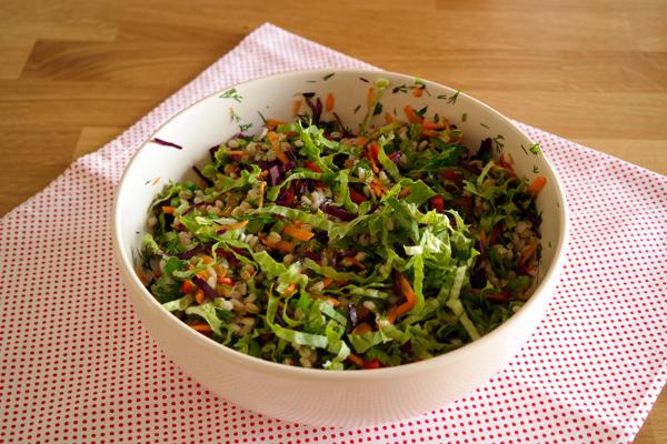 Buğday Salatası Tarifi -1
