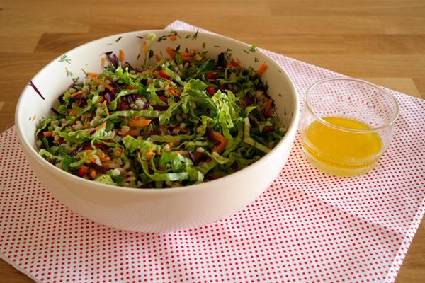 Buğday Salatası Tarifi -2