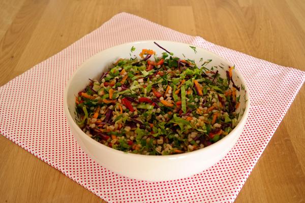 Buğday Salatası Tarifi -4