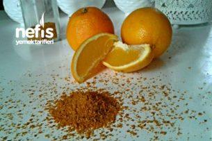 Baharat Yapımı - Uzun Ömürlü Portakal Tozu ( Ev yapımı) Tarifi