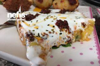 Yoğurtlu Havuçlu Patates Salatası Tarifi
