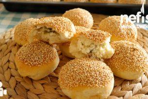 Simit Tadında Peynirli Poğaça Tarifi Videosu 27