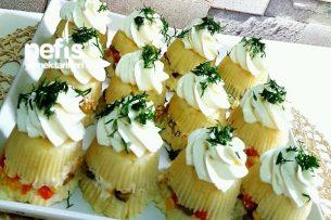 Cup Patates Salatası (Porsiyonluk) Tarifi