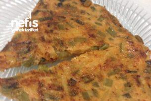 Pazı Yaprağının Sapıyla Patatesli Omlet Tarifi