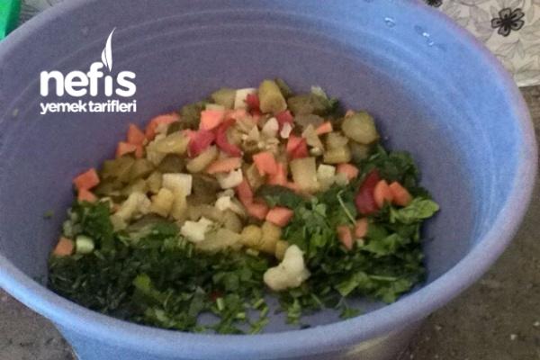 Şalgamlı Mor Salata