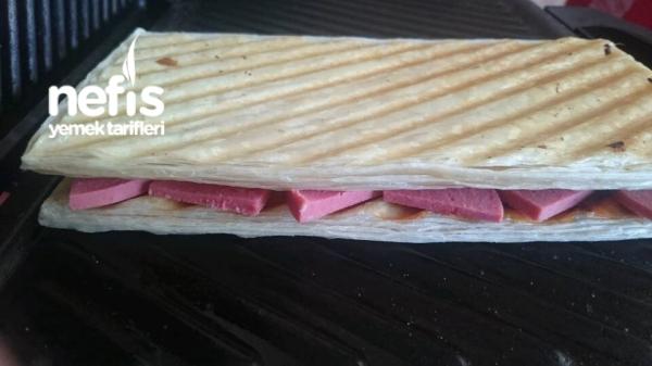 Şip Şak Milföy Tost