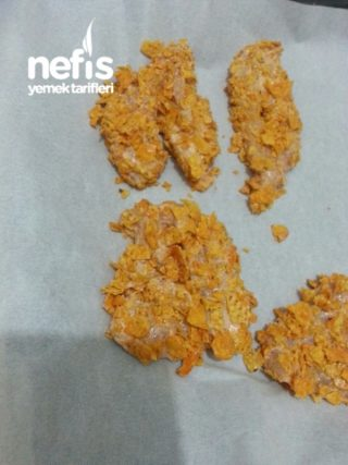 Cipsli Çok Lezzetli Çıtır Tavuk