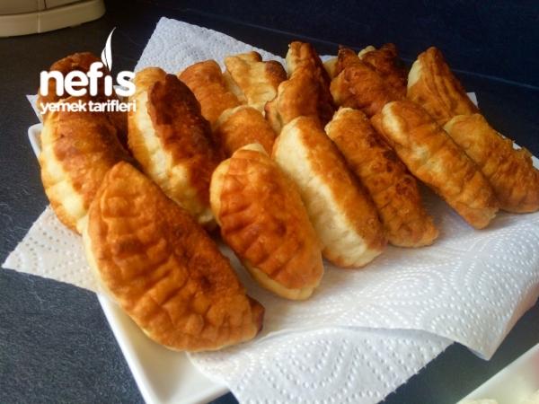 10 Dkda Püf Püf Mayasız Pişi (kahvaltı İçin)