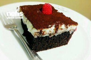 Siyah Beyaz Kremalı Kek Tarifi