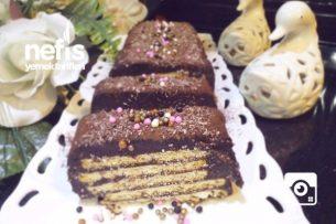 Bisküvili Soğuk Pasta ( Bol Çikolatalı Enfes) Tarifi