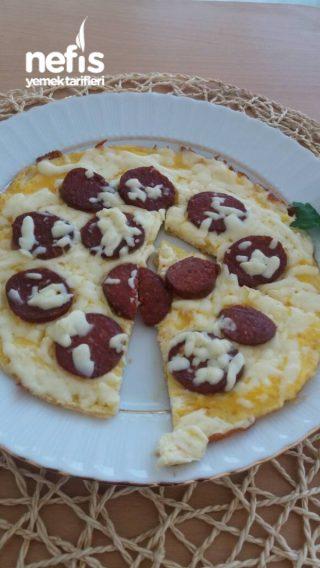 Sucuklu Pizza Yumurta