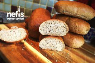 Tombul Sandviç Ekmekleri (Tam Tahıllı) Tarifi
