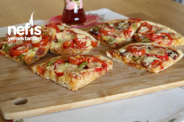 Bazlamadan Pratik Pizza -1