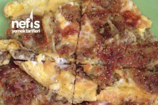 Bol Susamlı Patatesli Omlet (Acilen Deneyin) Tarifi