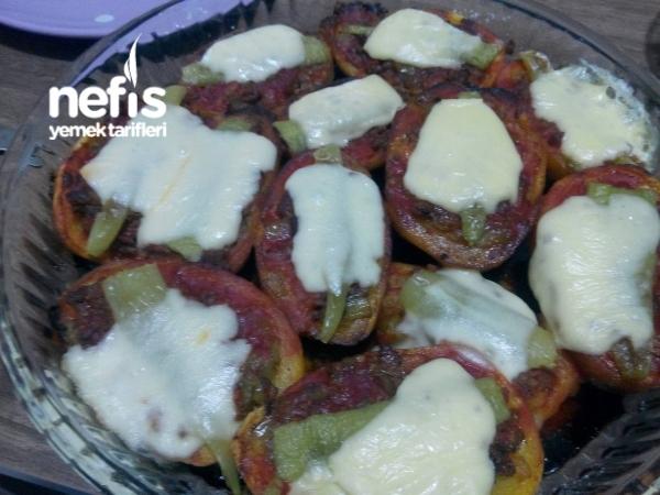 Fırında Sandal Patates(kumpir tadında)