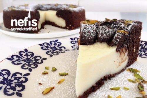 Ortası Cheesecakeli Magma Kek Tarifi Videosu