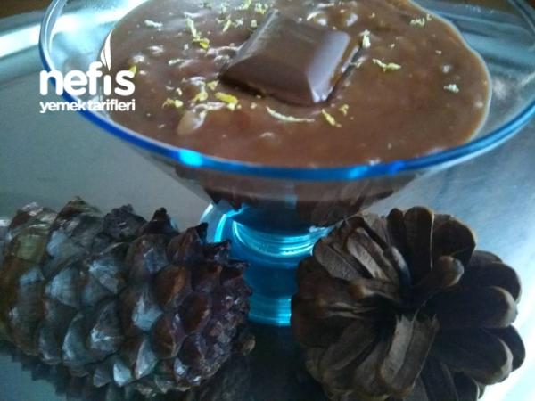 Çikolatalı Ve Zerdeçallı Limonlu Sütlaç