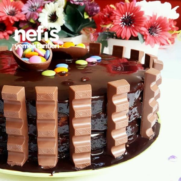 Çikolatalı Yaş Pastam (10 Dakikada)