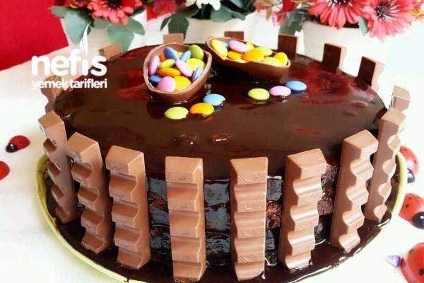Çikolatalı Yaş Pastam (10 Dakikada) Tarifi