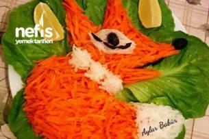 Havuçlu Tilki Salatası Tarifi
