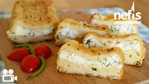 Baton Kalıpta Peynirli Börek Videosu Tarifi