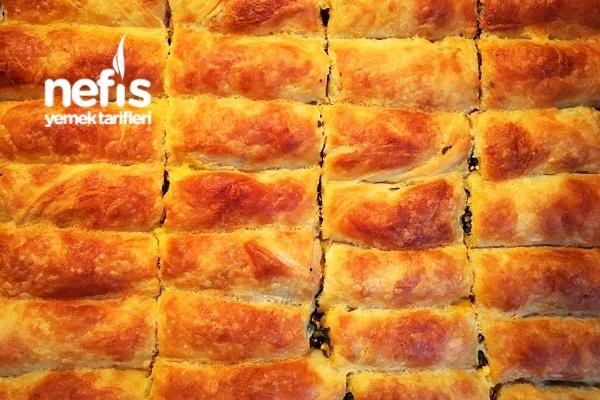Nefis Ispanaklı Pastane Böreği Tarifi