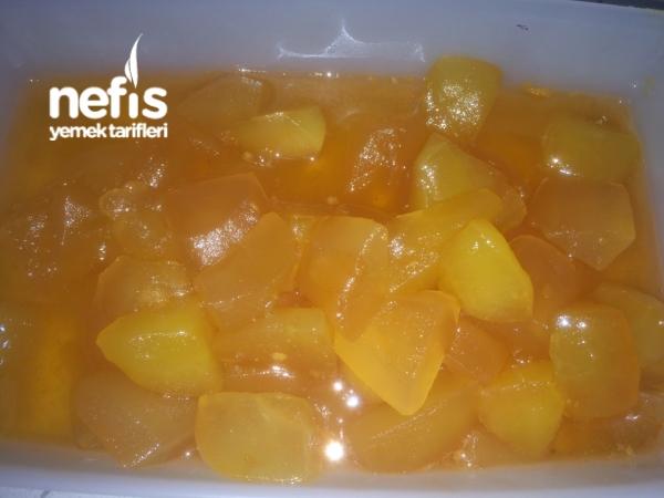 Greyfurt Suyu İle Elma Reçeli