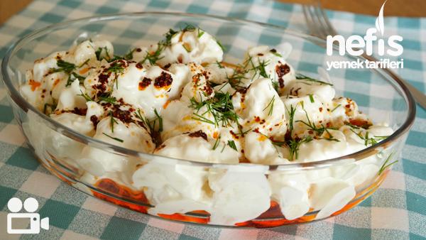 Karnabahar Salatası Tarifi Videosu