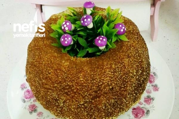 Tahinli Susamlı Kek