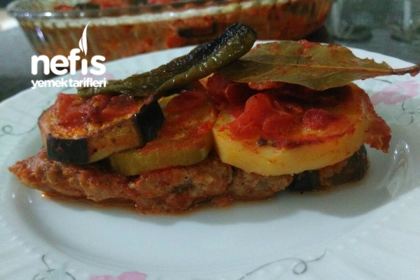 Nefis Tepsi Kebabı Tarifi