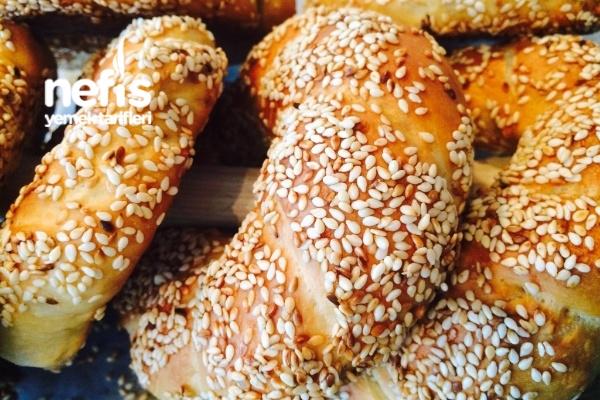 Sütlü Pastane Simidi