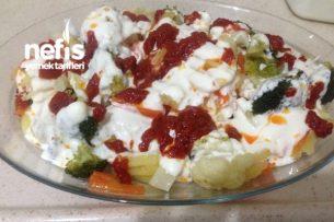 Yoğurtlu Karnıbahar,Brokoli Salatası Tarifi