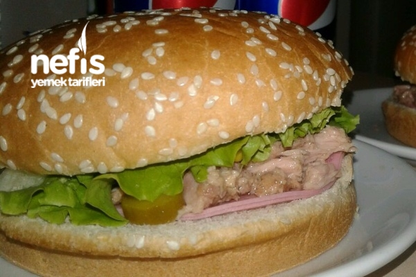 5 Dakikada Ton Balıklı Sandviç Tarifi