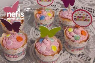 Doğum Günü Muffini Tarifi