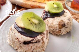 Halleyli Pasta (Muzlu) Tarifi