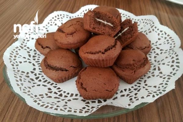 Nutellalı Bisküvi Saklı Brovni