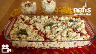Makarna Salatası Tarifi Videosu