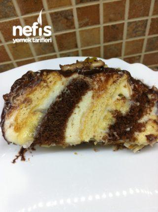 Muzlu Zebra Pastam (bisküvili kekli)