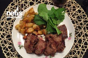 Fırın Patates Eşliğinde Dana Bonfile Tarifi